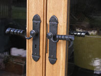 Extension and Alterations to Medieval Period Property; Door Furniture