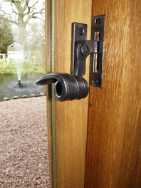 Extension and Alterations to Medieval Period Property; Window Fastener