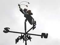 Star Catcher Weathervane