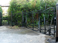 Bulrush Gates and Side Panel