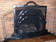 Foliage Fire Screen
